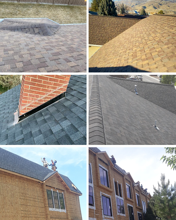 S&S Roofing Collage